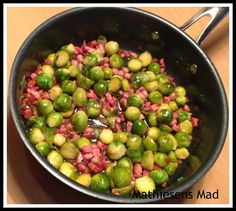 A seasonal dish of tasty Brussels Sprouts with Pancetta and Grapes. Complementary flavours finished with a glaze of pomegranate molasses. Dinner Is Served, Wine Recipes, I Foods, Food Inspiration, Healthy Life, Healthy Living, Side Dishes, Brunch, Food And Drink
