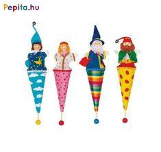 Pop-up dukke fra GOKI - Eventyr stk) Puppet Toys, Kiesel, Diy Toys, Dollhouse Miniatures, Art Dolls, Projects To Try, Diy Crafts, Christmas Ornaments, Cool Stuff