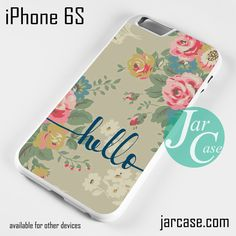 Hello Phone case for iPhone 6/6S/6 Plus/6S plus