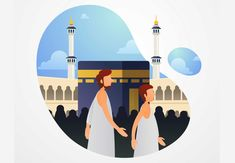 The rituals involved in the pilgrimage replicate many of the events in Prophet Ibrahim's (as) life! #Islam #History #Muslims Eid Prayer, Hajj Pilgrimage, Pillars Of Islam, Eid Al Adha, Morning Prayers, Trust God, Worship, Events