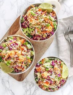 Coconut Lime Quinoa Salad Anti-Inflammatory, Vegan, Gluten-Free Eat Spin Run Repeat Pinned To Nutrition Stripped Salad Lime Quinoa Salad, Quinoa Salat, Coconut Quinoa Salad, Vegetarian Recipes, Cooking Recipes, Healthy Recipes, Healthy Salads, Healthy Eating, Easy Meal Prep