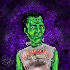 Frankenstein Rocks by B.C. Smith 2013 - Created In #procreateapp