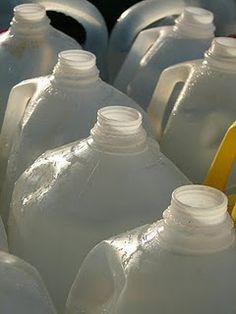 10 ways to reuse milk jugs