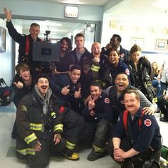 Chicago Fire cast & crew