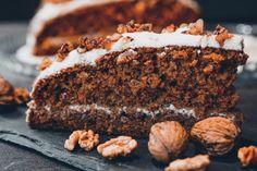 Mrkvový dort s vlašskými ořechy – Snědeno.cz Ricotta, Food And Drink, Fitness