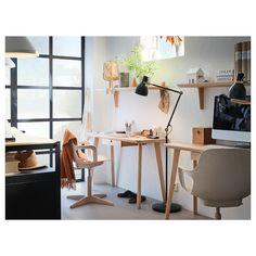 LISABO リーサボー デスク - アッシュ材突き板 - IKEA