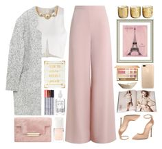 """Celebration"" by doga1 ❤ liked on Polyvore featuring Zimmermann, Lydell NYC, Gianvito Rossi, tarte, Christian Dior, Nude, WALL, Herbivore, Illume and Vintage Print Gallery"