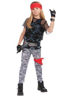 80s Rock Star Boy Costume