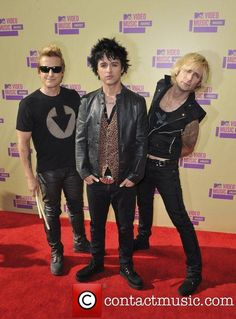 Green Day @ MTV Video Music Awards 2012