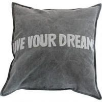 Live Your Dreams Toss Cushion : Urban Barn Colorful Throw Pillows, Decorative Pillows, Daughters Room, To My Daughter, Unique Photo Frames, Urban Barn, Collage Picture Frames, Contemporary Classic, Kid Spaces