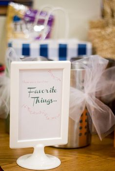 Favorite Things Party.  What a fun party to have with girlfriends!