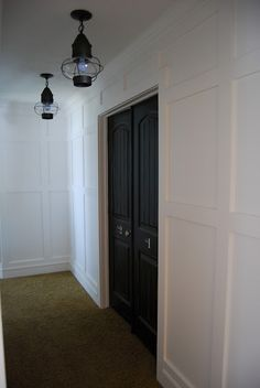 Interior Doors | make your bedroom doors stand out by painting them a contrasting color like black | Bayer Built Woodworks