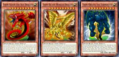 Toon Egyptian God Cards - Yu-Gi-Oh