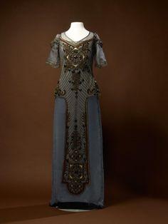 Callot Soeurs evening dress, 1910-1915. From the Amsterdam Museum.