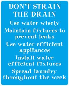 Septic Systems & water usage - helpful information HERE (844) 224-2782 #AquaKlear #septictips