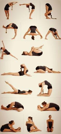 Základné cviky strečingu tanečníkov, alebo len tak pre lepšiu flexibilitu. ________________________ Some of the main stretching stuff. For beginner-dancers, or better flexibility.