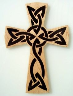 Free Horse Scroll Saw Patterns | SLDK107 - 4 Fretwork Crosses w/optional resin Fill