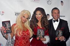 Patti Marinari, Farrah Abraham, Ron Marinari, attending the Farrah Abraham Hosts Bedchamber Book Launch and 2015 Christmas Event at the Empire Hotel held at the Empire Hotel in New York City, NY, USA on 12/11/2015 | DFV-000536