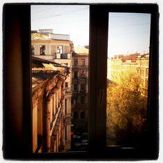 San Pietroburgo dalla finestra