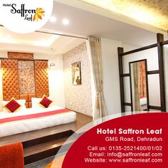 #‎Hotel‬ Saffron ‪#‎LEAF‬  Visit Us at: www.saffronleaf.com Or Contact Us at: 091135-2521400/01/02