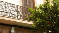 balcony Cast Iron, Balcony, Fence, Gate, Barcelona, Stairs, Outdoor Structures, Home Decor, Photo Illustration