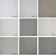 Gietvloer kleuren: 4x inspiratie voor de kleur van je gietvloer My House, Tile Floor, Flooring, Texture, Interior Design, Bathroom, House Styles, Inspiration, Furniture