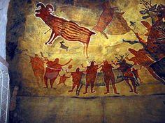 Cave paintings,San Ignacio