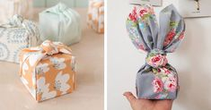 Looking for an eco-friendly option for the holidays? Fabric gift wrap, also known as furoshiki cloth, is a lovely way to give a present that you can reuse.