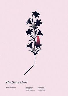 The Danish Girl - minimal movie poster - Matt Needle
