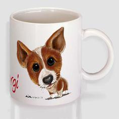 Κόργκι Πέμπροκ Mugs, Tableware, Dinnerware, Tumblers, Tablewares, Mug, Dishes, Place Settings, Cups