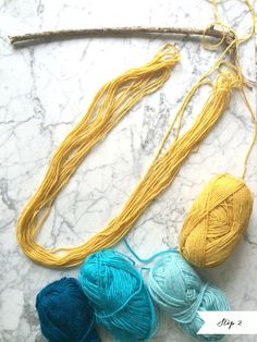 what to make with yarn | Art in the Find