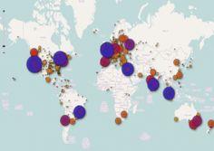 Heat map - Startup Genome