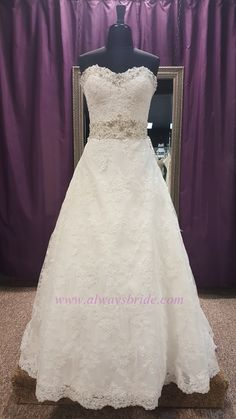 Mori Lee #1913 - Always A Bride Wedding Consignment, Grafton, WI