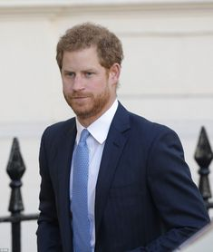 Prince Harry looked dapper in a suit as he joined his brother and sister-in-law at the event