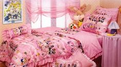 sailor moon room!!! ....When I was little I used to dream my room would be like this