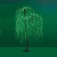 Δέντρο Led Ιτιά      1008 Led  Τροφοδοσία: 230V AC  Κατανάλωση: 46W  Χρώμα: Πράσινο  Χρώμα κορμού: Μαύρο  Διαστάσεις: Ύψος 2m, Διάμε... Led, Dandelion, Symbols, Flowers, Plants, Dandelions, Plant, Taraxacum Officinale, Royal Icing Flowers