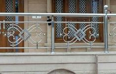 Elegant Balcony Steel Design Ideas Elegant Balcony Steel Design Ideas, A deck railing component is unquestionably important in creating the deck railing scheme that will find the money . Balcony Glass Design, Balcony Grill Design, Balcony Railing Design, Window Grill Design, Steel Grill Design, Steel Railing Design, Staircase Railing Design, Deck Railings, Stainless Steel Stair Railing