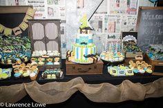 Mustache Birthday Party Dessert Table - Project Nursery