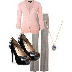 """""""Office work clothes"""" by nebe102 on Polyvore"""