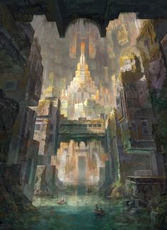 ArtStation - Ancient civilizations /Accross the lost city, robin lhebrard