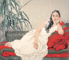 Fine Art GalleryHe Jiaying was born in Tianjin in 1957.
