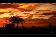 When the Sun Goes Down, in Subang, West Java