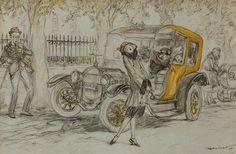 Raleigh, Henry Patrick (b,1880)- F- 'Cornelia's Mountain', 1924