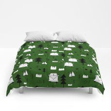 blue flow Comforters by plakatowka   Society6 Comforters, Pattern Design, Blanket, Bed, Flow, Green, Home Decor, Creature Comforts, Homemade Home Decor