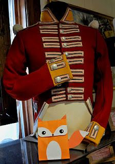 100th Regiment of Foot uniform with a fox craft for kids