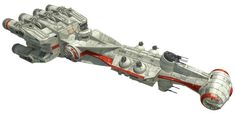 Star Wars - CR90 Corvette Free Papercraft Download