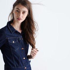 Jean Jacket Dress : casual dresses | Madewell