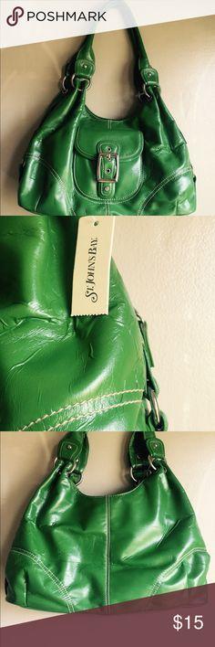 Brand new BAG 👜‼️ Green shoulder bag brand new with tag St. John's Bay Bags Shoulder Bags