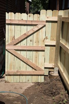 how to build a wood fence gate fences pinterest wood fence