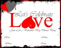 These are free downloadable Valentines invitation from RAD Event Production page.
